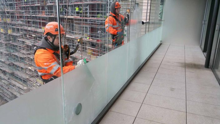 Rappel IRATA Industrial Rope Access and Abseiling Services - Building Cleaning, Post Construction Cleaning, Post Build Cleaning and Window Cleaning London