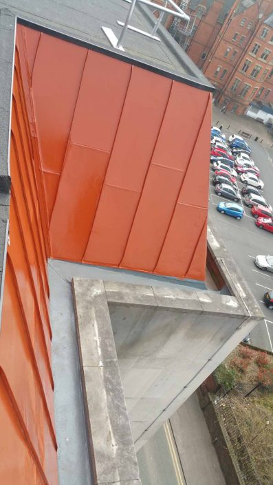 Rappel IRATA Industrial Rope Access and Abseiling Services - Cladding Painting and Coating Manchester