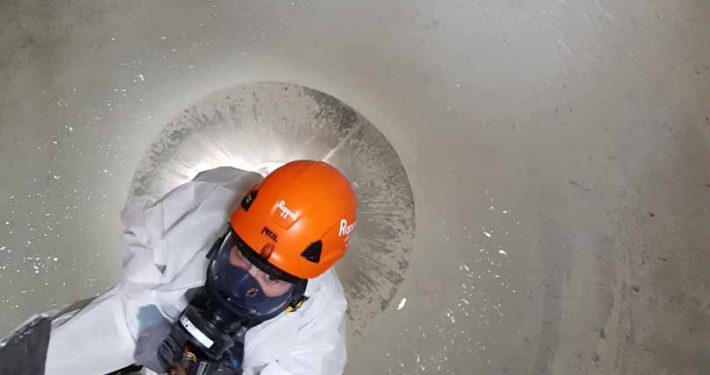 Rappel Rope Access and Confined Space Flour Silo Cleaning Works