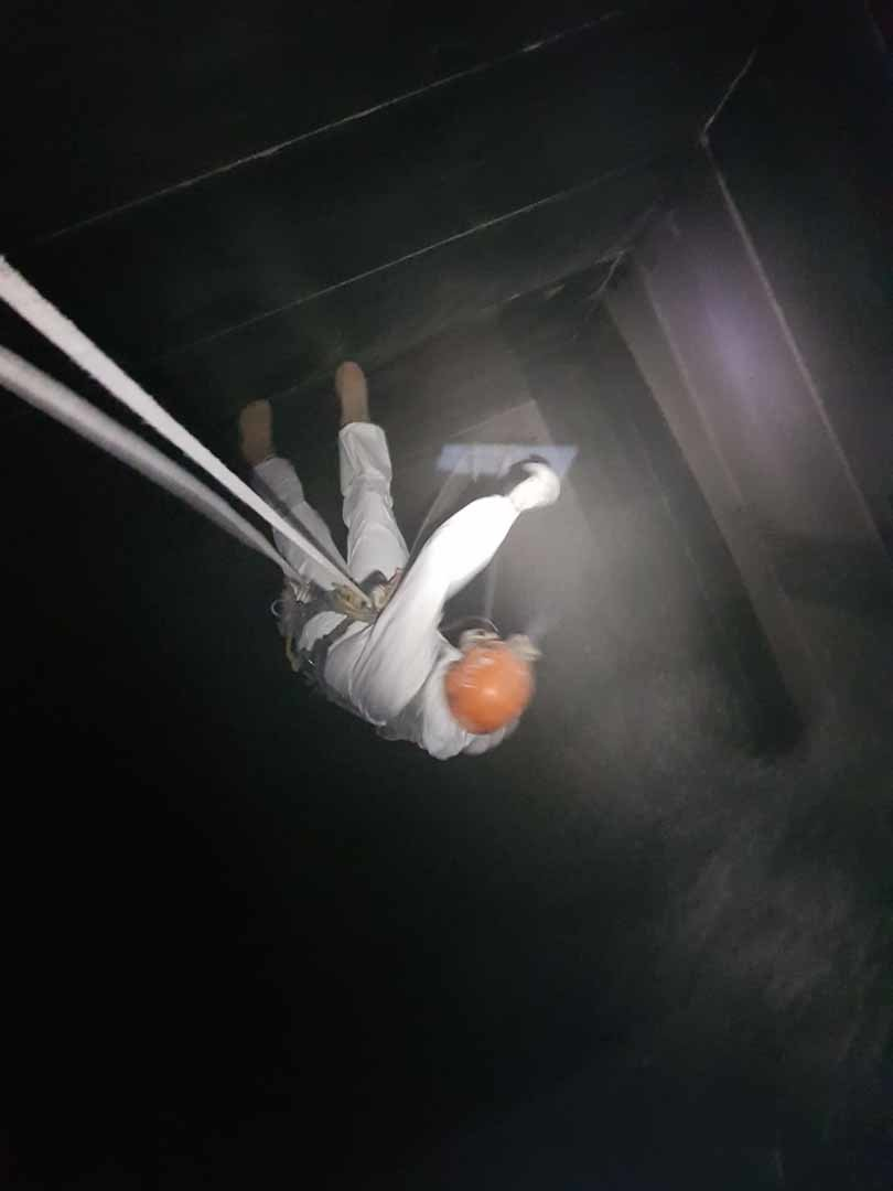 Rappel Rope Access Contractors. Grain Silo and Grain Bin Cleaning Services. Internal Confined Space and Rope Access Systems.