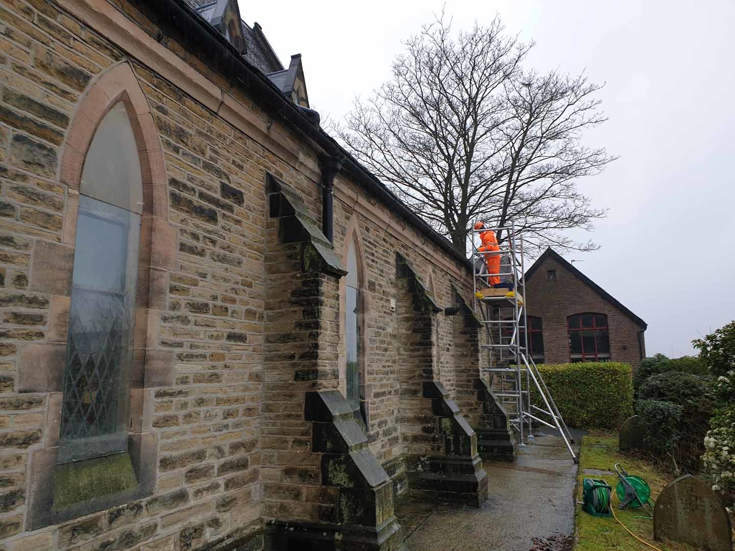Gutter and Rainwater Goods Cleaning Service