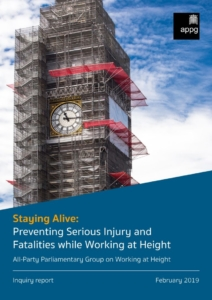 APPG Staying Alive Report Cover