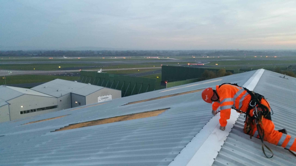 Commercial and Industrial Roof Maintenance Services
