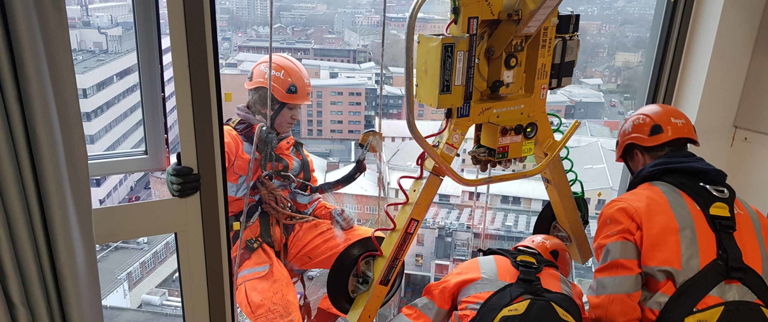 High Level Cladding and Glazing Services