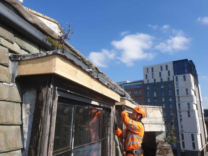 Window & Roof Lantern Restoration Works - Liverpool