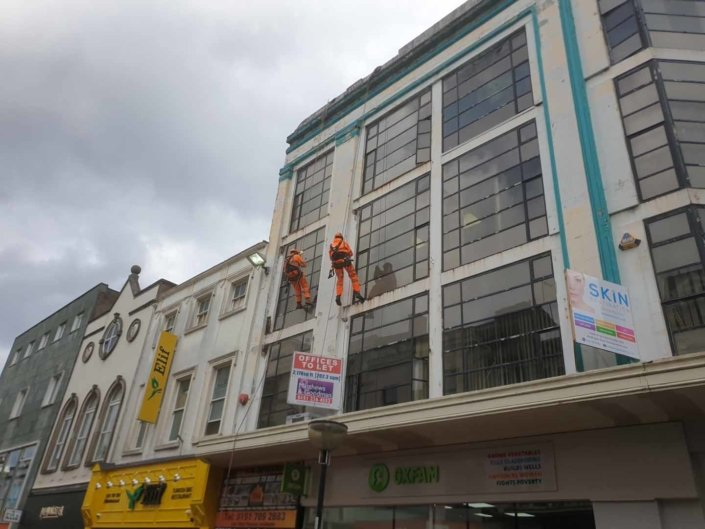 Abseil Building Survey - Liverpool
