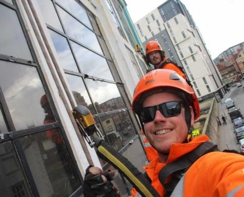 Abseil Building Survey - Liverpool