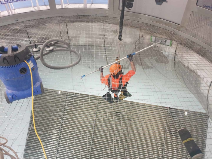Indoor Wind Tunnel High Level Cleaning - iFLY Manchester