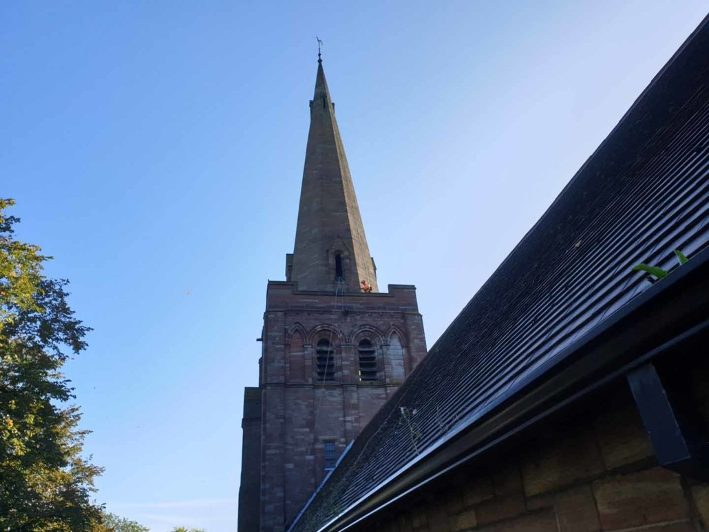 Church Maintenance, Cleaning & Bird Netting Services - Manchester
