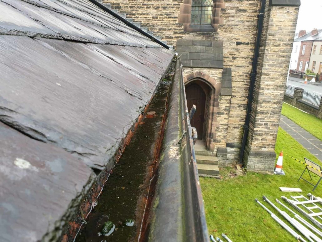 Rainwater Goods & Gutter Cleaning - St Mark's Church