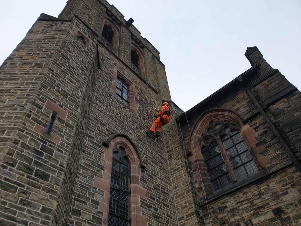 Vegetation Removal & Cleaning - St Mark's Church