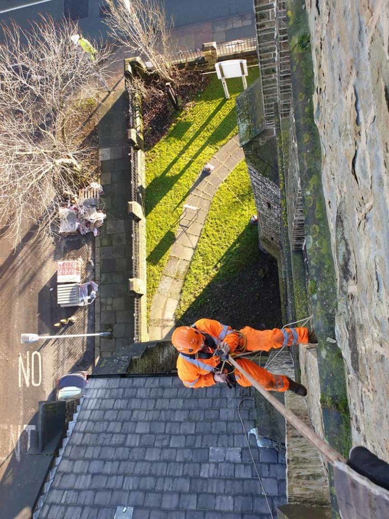 Rope Access Church Maintenance & Inspection - St Mark's Church