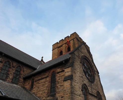 Church Roof Inspection & Repair - St Mark's Church