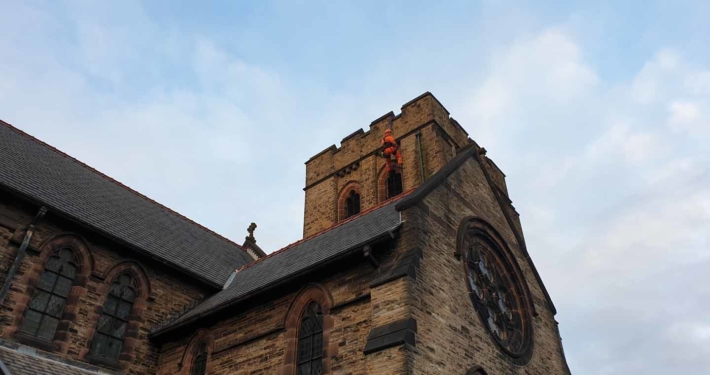 Church Roof Inspection & Repair - St Mark's Church